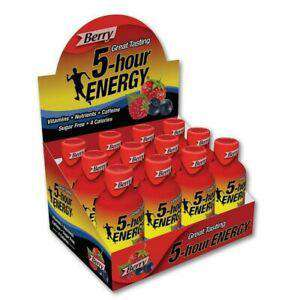 5 HOUR Energy 12/Box
