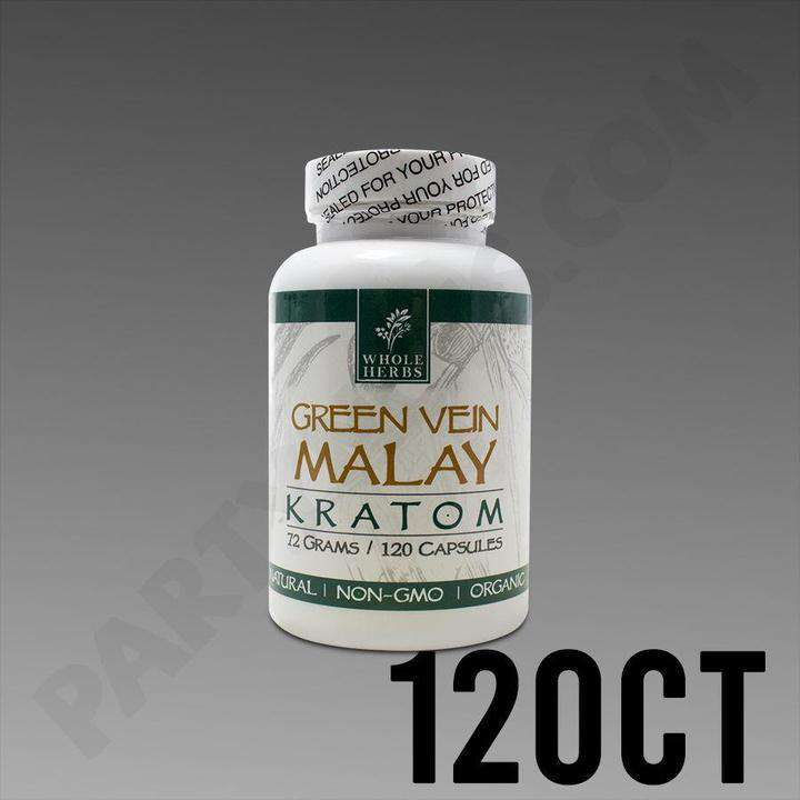 Whole Herbs Kratom 120 Capsules