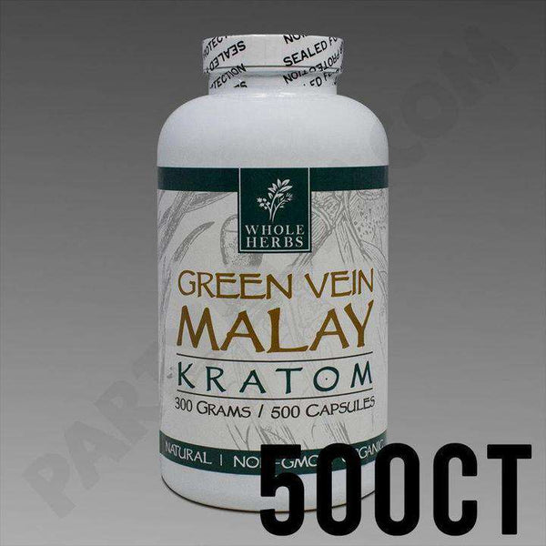 Whole Herbs Kratom 500 capsules
