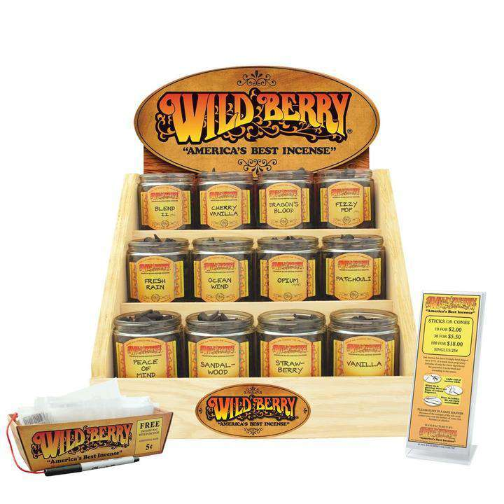 Wildberry Starter Kits and Displays