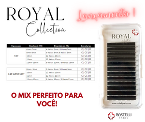 Cílios Royal Collection - 0.07