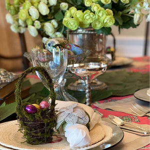 Vintage Easter Tablescapes