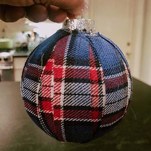 DIY Fabric Christmas Ornaments
