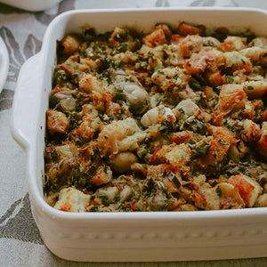 Sally's Oyster Stuffing