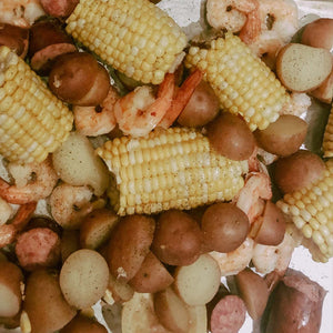 Shrimp Boil - Easy Family Style Meal