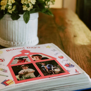 Scrapbooking 101 - Storing and Cropping Photos