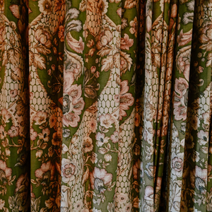 Family History of the Lake House - Bedroom Drapes