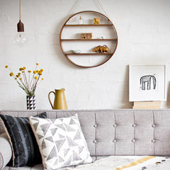 Circle & Heart Shelves