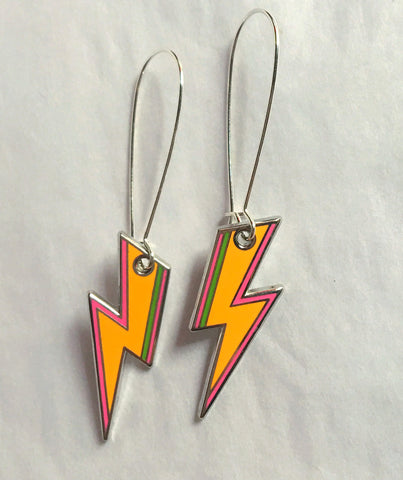 Fluro 'Ziggy' Earrings
