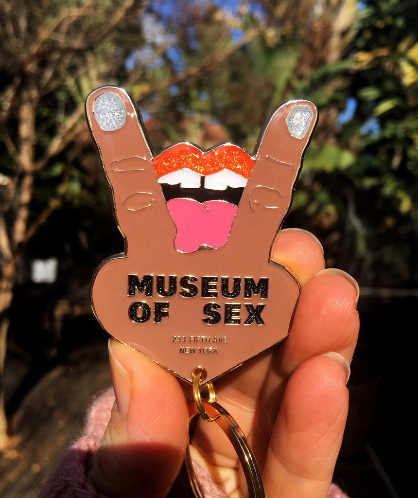 MoSex Tongue Keyring