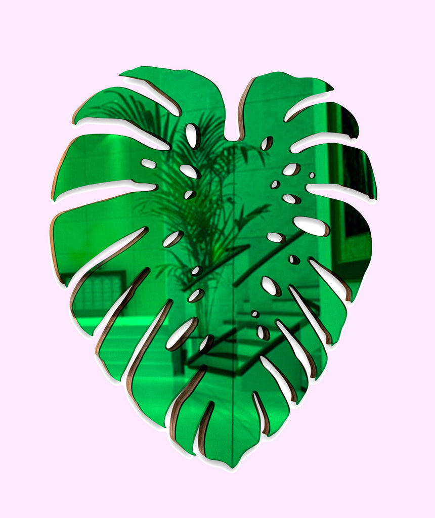 Monstera Leaf Mirror