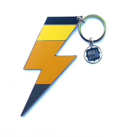 Lightning Keyring - Grey Tip