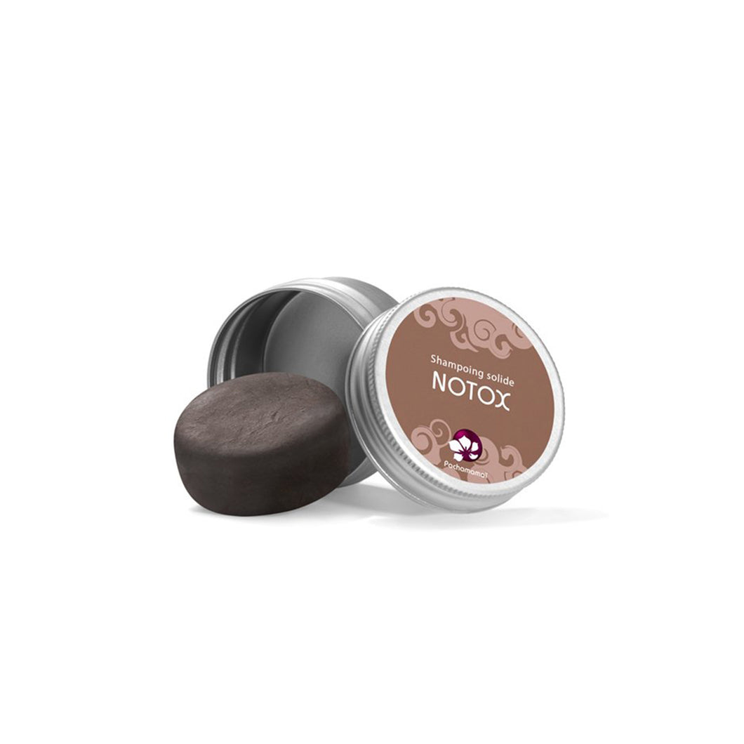 Shampoing solide pour cheveux gras notox