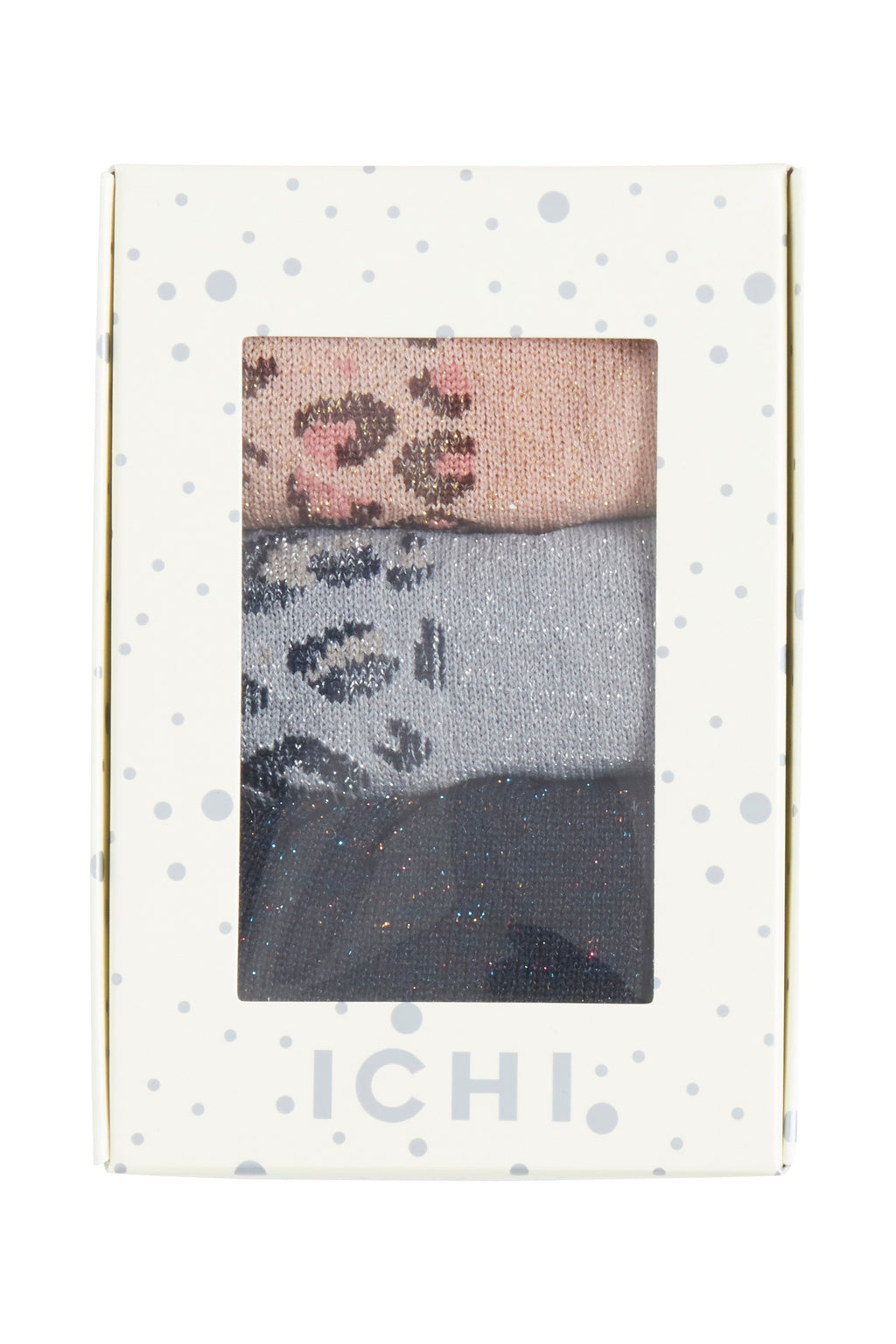 ICHI - SOCK BOX LEO - Styling by Claudia