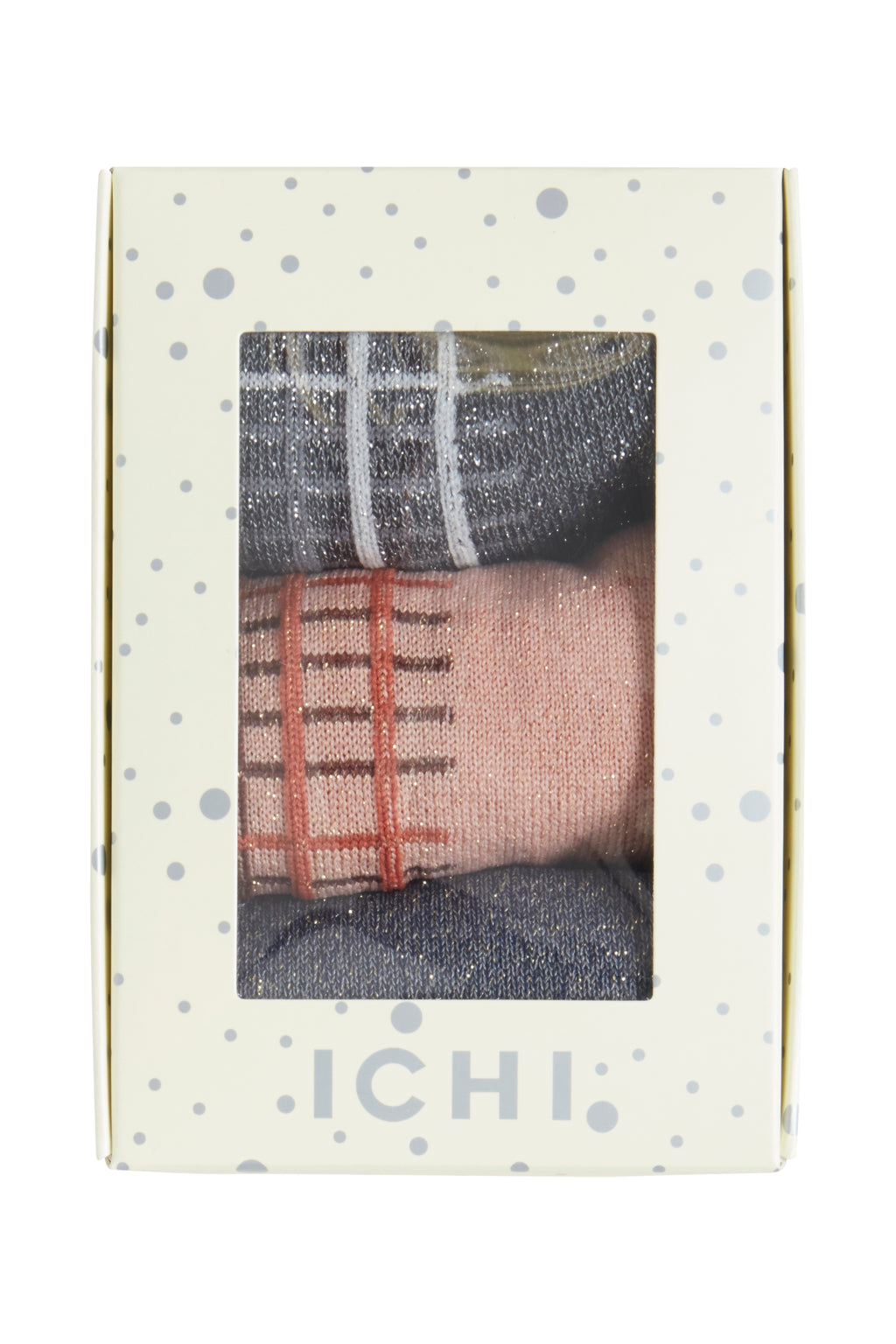 ICHI - SOCK BOX CHECK - Styling by Claudia