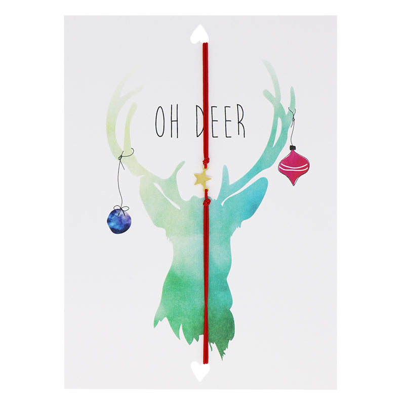 LUCIES AMSTERDAM - POSTCARD - OH DEER - Styling by Claudia