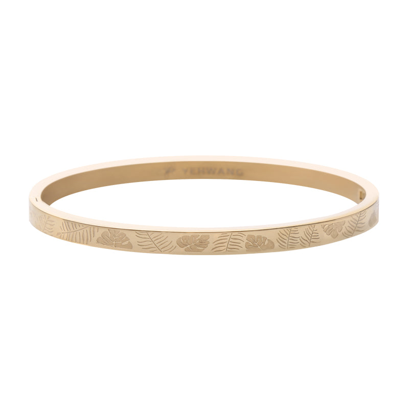 YEHWANG - BRACELET CLASSY JUNGLE FEVER SMALL - GOLD - Styling by Claudia