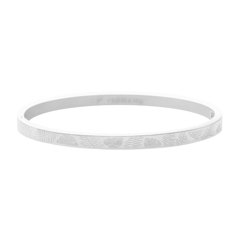 YEHWANG - BRACELET CLASSY JUNGLE FEVER SMALL - SILVER - Styling by Claudia