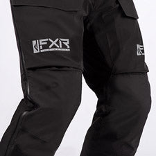 A smaller image showing the Nylon Oxford reinforced back and knee seat feature.