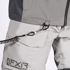 A smaller image of a kill cord attached to a tether retention D-ring.