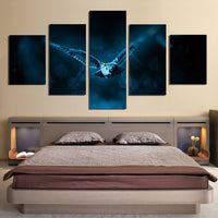 5 Piece Owl Canvas Wall Art Images Pictures Of Owls Wallpaper Mural Decoration Design Artwork Poster Decor Prints Gifts Painting Photography