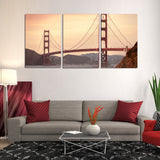 San Francisco California Golden Gate Bridge Canvas Wall Art Pictures Wallpaper Mural Posters Decor Prints Gifts Paintings Photography Images