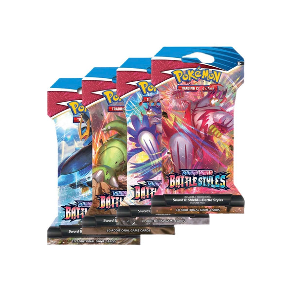 Pokemon - Battle Styles - Sleeved Booster Pack - Pokémon - Invasion Toys