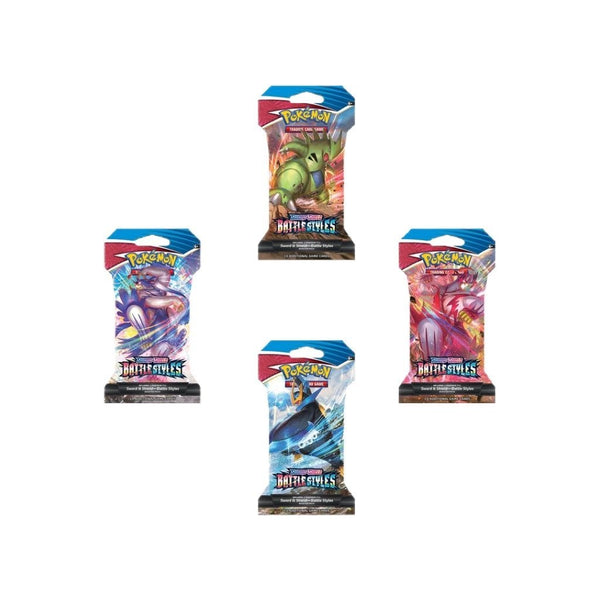 Pokemon - Battle Styles - Sleeved Booster Pack Case (144 Count) - Pokemon - Invasion Toys