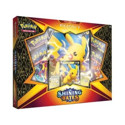 Pokemon - Shining Fates - Pikachu V Box - Pokémon - Invasion Toys