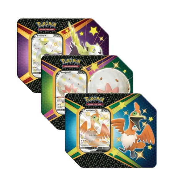 Pokemon - Shining Fates - V Tin (Random) - Pokémon - Invasion Toys