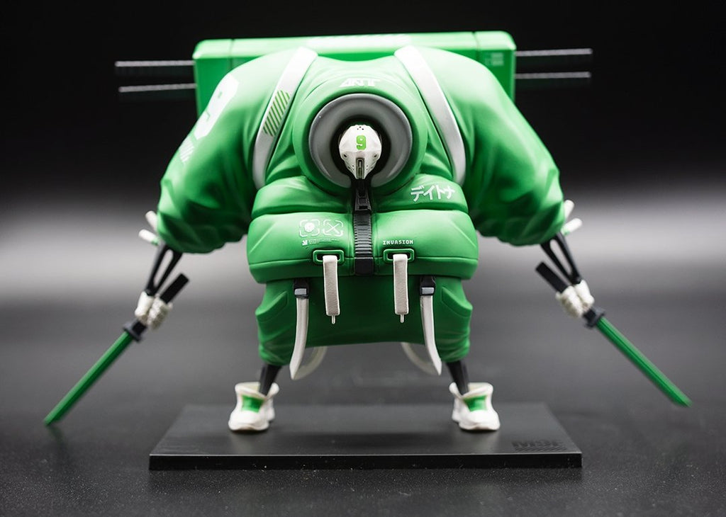 "PureArts x Daytoner - Master 9 Eyes ""Invasion of 9 Eyes"" - 1/12 Vinyl Figure - PureArts - Invasion Toys"