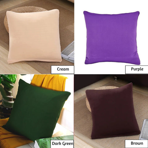 Bed pillow covers