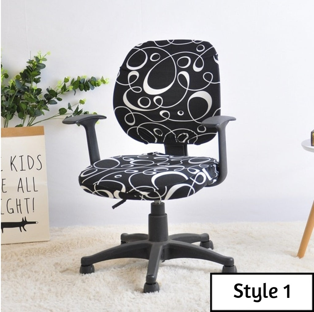 Stupendous Magic Computer Office Chair Cover Gmtry Best Dining Table And Chair Ideas Images Gmtryco