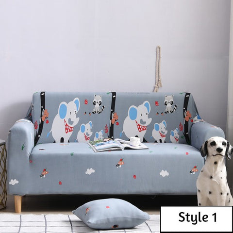Cartoon Style Sofa Cover