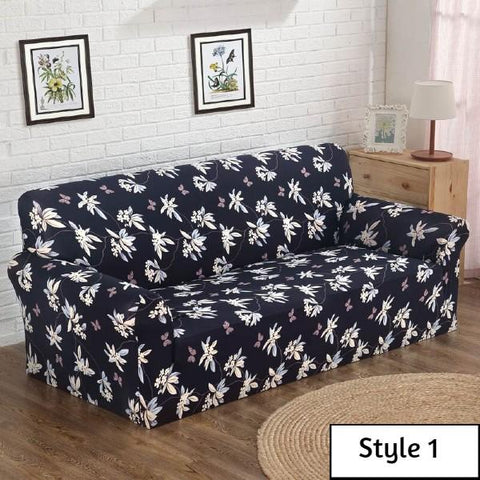 Couch Slipcovers Leaf Style
