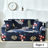 Stretch Sofa Covers Leaf Style