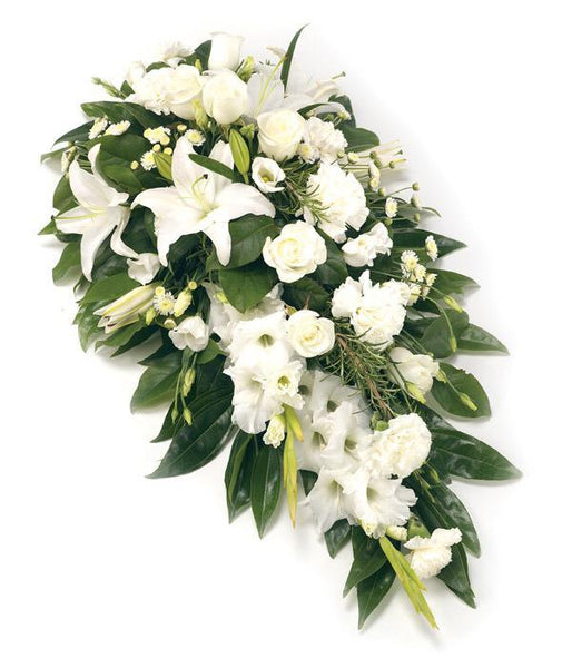 White sympathy arrangement