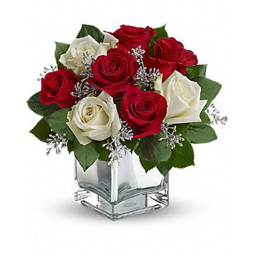 Roses Arrangement in the Vase