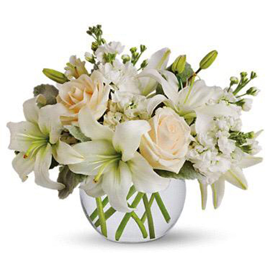 White Bouquet in the fishball