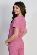Aspen v 2.0 | Women's 5-Pocket Handwarmers Top | Mauve
