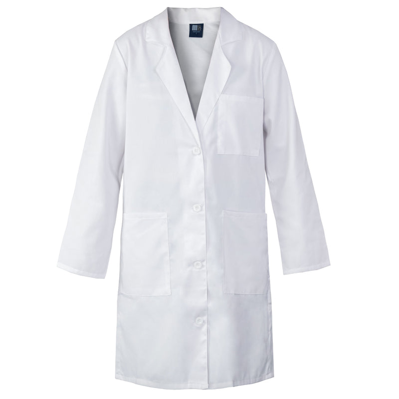 "Women's White Lab Coat 33"" and 39"" Long"