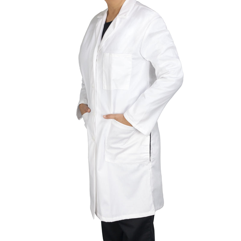 "Women's 5-Pocket 39"" Lab Coat"