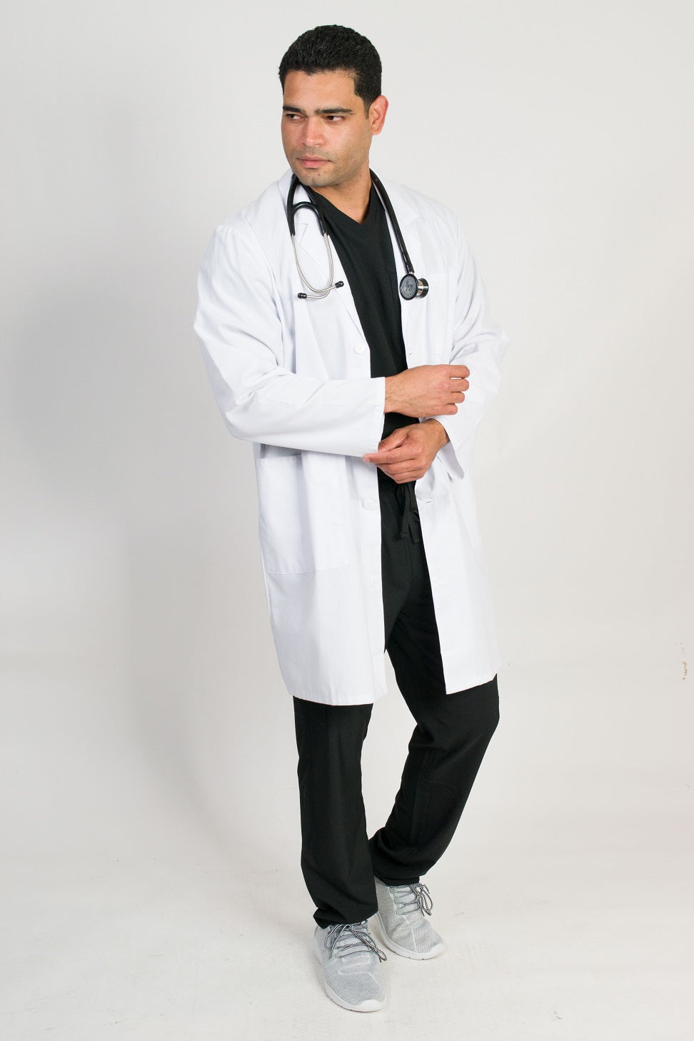 "Men's 3 Pocket 39"" Length Lab Coat"