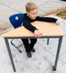 Boy at Table from Novi School District Furniture Share