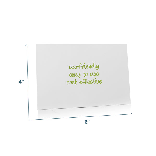 "Stickies Reusable Sticky Notes 4"" x 6"", 12-Pack"