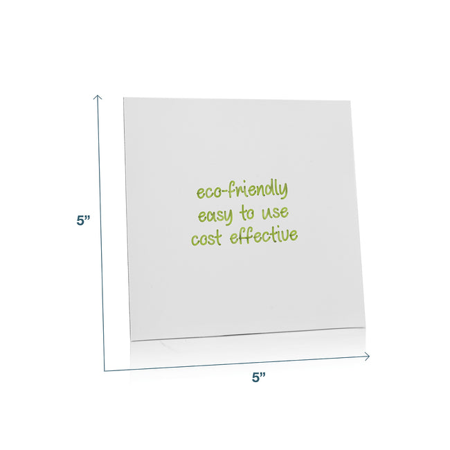 "Stickies Reusable Sticky Notes 5"" x 5"", 6-Pack"