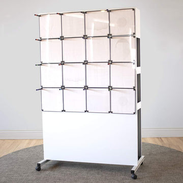 Rolling Easel with 16 Tablets