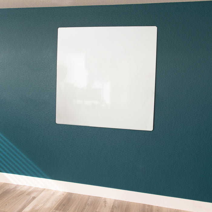 "Floating Magnetic Whiteboard, 46"" X 46"""