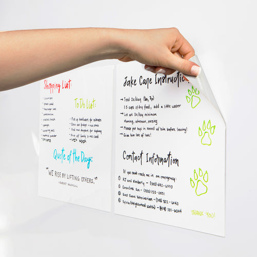 "Stickies Large Reusable Sticky Notes 11"" x 11"", 2-Pack"