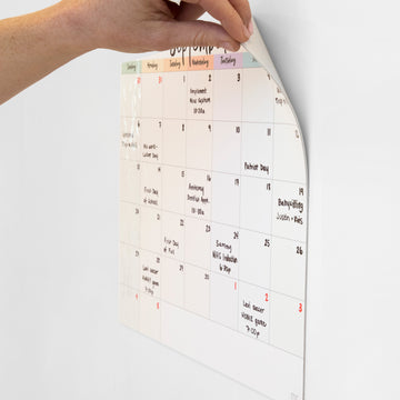 Stickies Whiteboard Calendar
